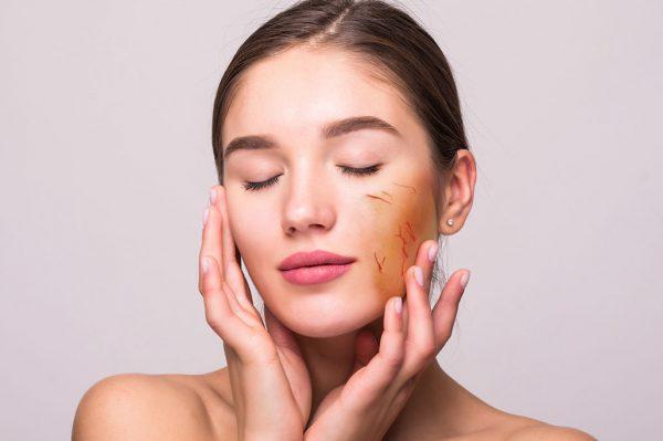ماسک زعفران برای پوست