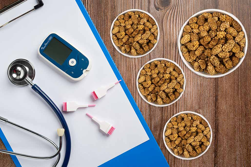 توت خشک برای دیابت